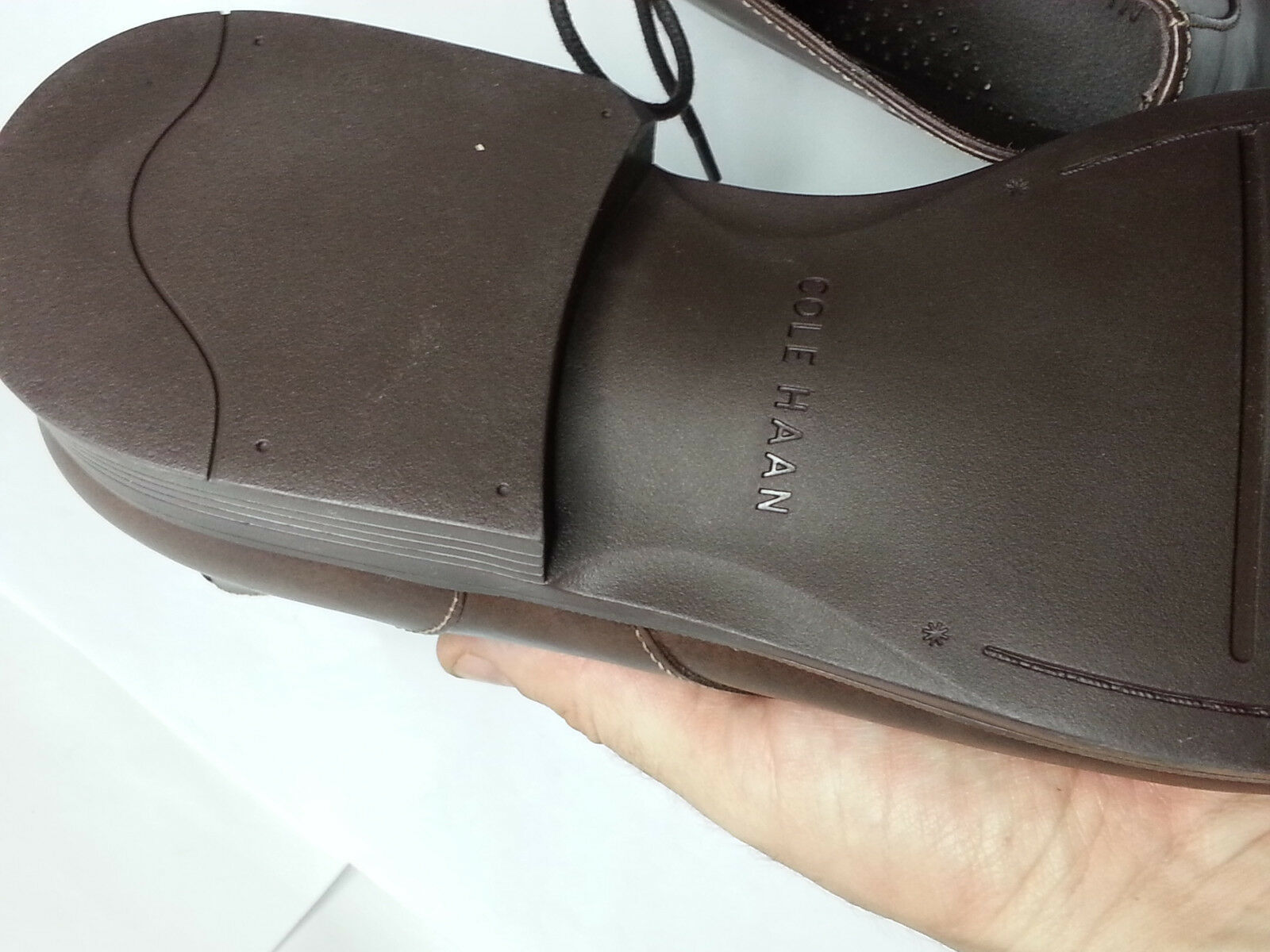 Cole Haan Men Size 10.5 Brown Leather Copley Chukka Boots Made in India New Box image 7