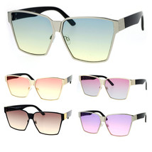 SA106 Womens Color Gradient Futurism Oversize Diva Squared Butterfly Sun... - $12.95
