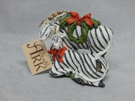 Department 56 Noah's Ark Pair of Zebras Ornament - $14.85