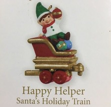 Hallmark Keepsake Happy Helper Santa's Holiday Train 2011 Miniature Orna... - $4.94