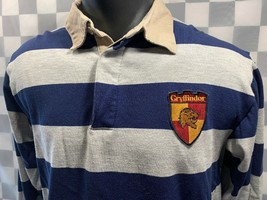 Harry Potter GRYFFINDOR Crest Youth Polo Shirt Size 14/16 - $11.57