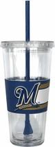 Milwaukee Brewers 22oz Straw Tumbler - MLB - $12.60