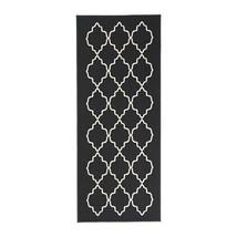 "Ikea Hovslund Rug Low Pile Dark Gray New 2' 7"" x 6' 7"" - $54.44"
