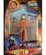 Doctor Who The Tenth Doctor in Dirty Spacesuit w/ 2 Obelisks - $76.73
