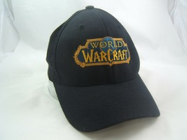 World of Warcraft Hat Black S-M Stretch Fit Baseball Cap - $14.67