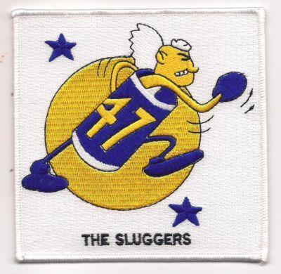 Primary image for US Navy Desron-47 WWII the Sluggers Patch