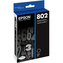 Epson DURABrite Ultra 802 Ink Cartridge - Black - Inkjet - $38.86