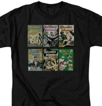 Wonder Woman T-shirt DC comic book covers Batman superhero cotton tee DCO545 image 2