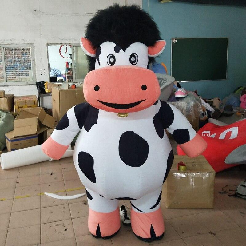 Cow mascot  inflatable doll costumes inflat mascot image 4
