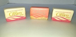 Vtg AVON  Cream Soap in Petal Pink 3 Bars 3 oz each Lot of 3 NOS HTF  1981 - $14.95