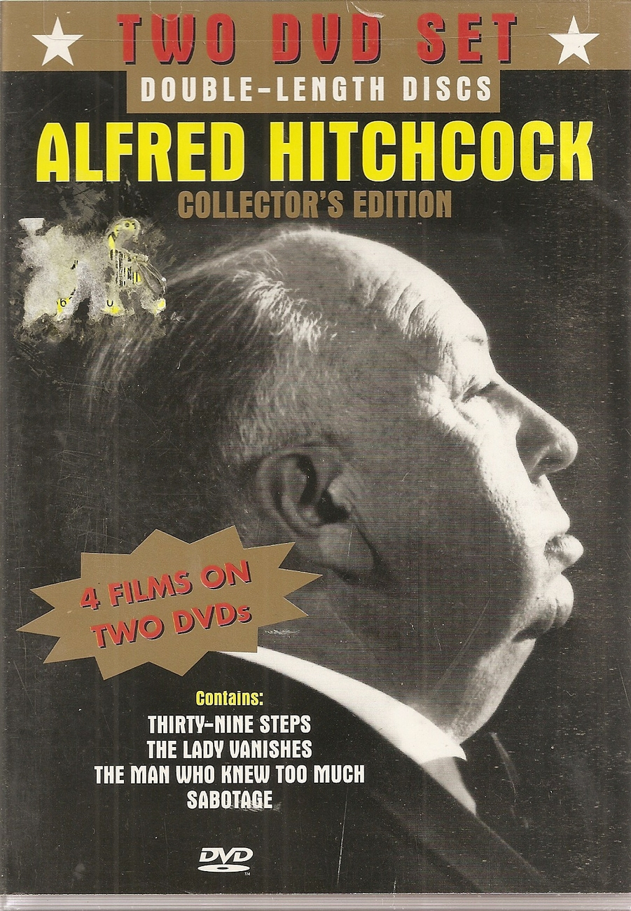 Primary image for DVD--Alfred Hitchcock - Collector's Edition