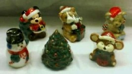 Christmas 6 ASSORTED CHARACTER CANDLES - $14.85