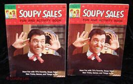 Soupy Sales Fun & Activity Book Lot Unused 1965 Treasure Books - $16.99