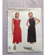 Vogue 1958 - dress pattern - Donna Karan - size 12, 14, 16 - £14.74 GBP