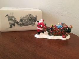 "Department 56 Snow Village ""Santa Comes To Town, 1996"" #5486-2 - $7.50"