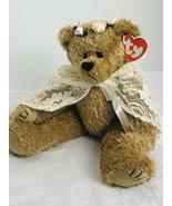 "Ty Beanie Baby Attic Treasure 12"" Jointed Plush ""Eve"" Bear Lace Cape - E... - $13.86"