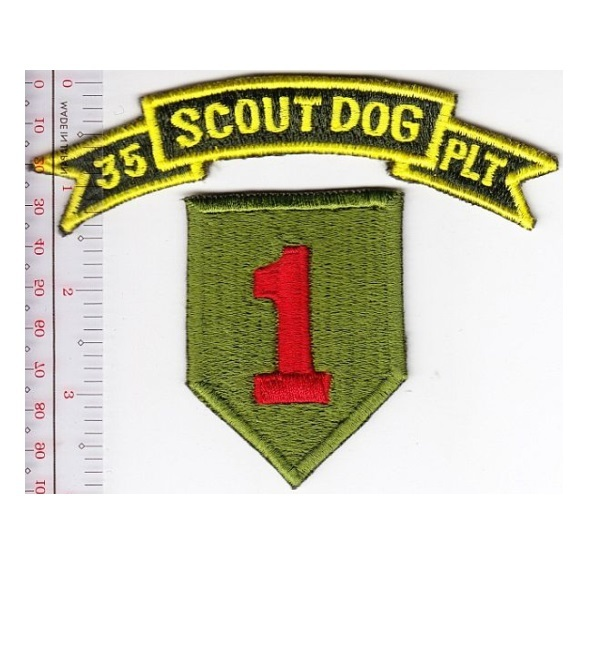 K 9 Us Army Vietnam 35th Scout Dog Platoon And 50 Similar Items