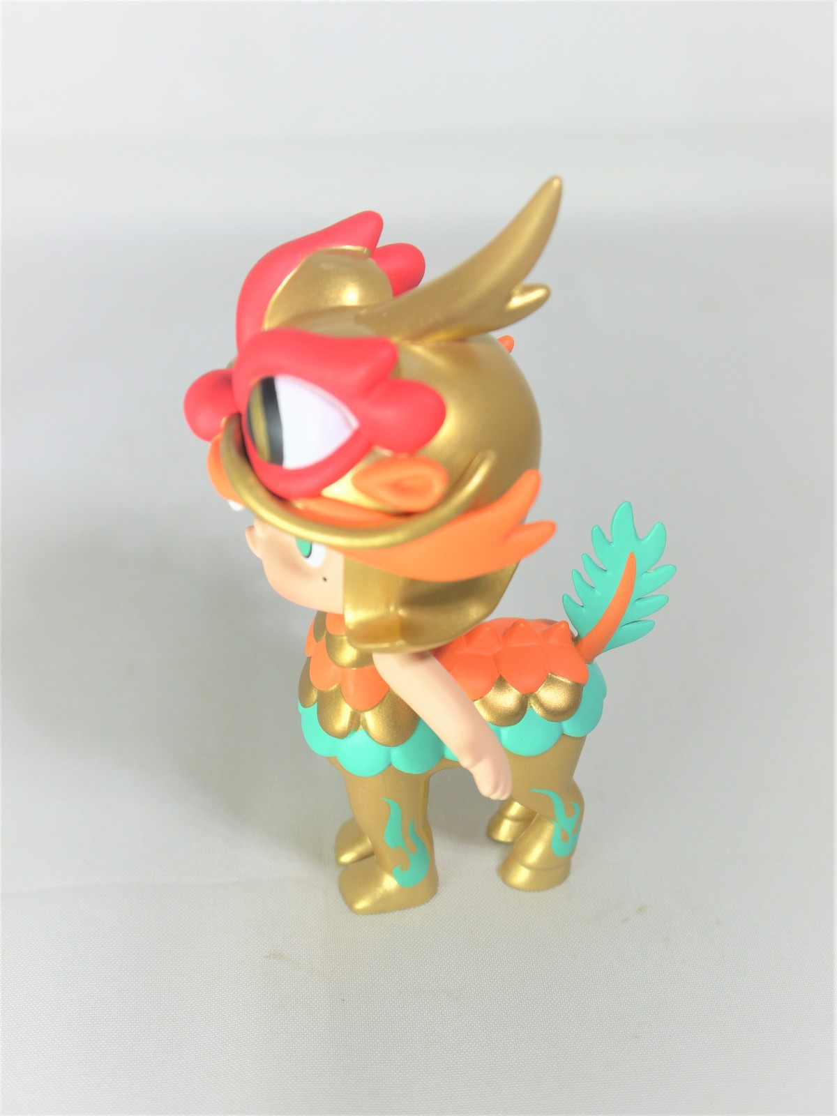 POP MART Kennyswork MOLLY CHINESE ANCIENT MYTHICAL CREATURES Golden Kylin