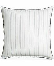 Hotel Collection Ticking Stripe Euro Pillow Sham Linen - $39.55