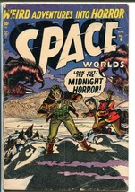 Space Worlds #6 1952-Atlas-Capt Jet Dixon-only issue-Space squadron-GOOD - $105.54
