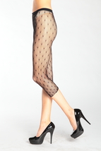 The Micro Hearts Fashion Designed Fishnet Tights - Free Size - €8,82 EUR