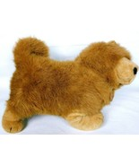 "Dakin Brown Chow Dog Plush Stuffed Animal 1988 18"" Standing - $47.11"