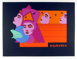 "Guy Pierce ""Nefertiti"" 1979 - S/N Serigraph - Retail $1.9K - COA - See Live - $300.00"