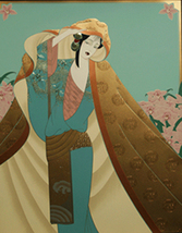 "Lillian Shao ""Among The Orchids"" - S/N Embossed... - $650.00"