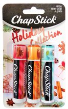 Chapstick Holiday Collection: Holiday Cinnamon, Caramel Creme & Holiday ... - $14.99