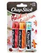 Chapstick Holiday Collection: Holiday Cinnamon, Caramel Creme & Holiday ... - $14.99