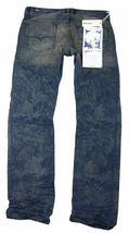NEW DIESEL MEN'S PREMIUM DENIM REGULAR SLIM STRAIGHT DESIGNER JEANS SAFADO 0811M image 4