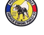 93 unit  cynophile ucd 856 french national police k 9 velcro 3.75 x 3.75 in 10.99 thumb155 crop