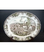 "Johnson Bros Friendly Village Oval Platter - 11 3/4"" - $18.99"