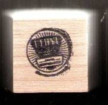 Ethyl gasoline logo Rubber Stamp  made in america USA - $8.69