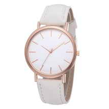Yuhao® Fashion Women Simple Dial PU Strap Watches Casual Quartz Alloy La... - $5.59