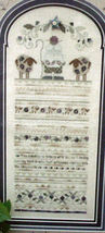 "Counted Cross Stitch Pattern ""Blackberie Sampler"" - $6.50"