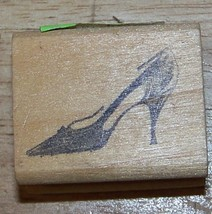 High heeled Shoe vintagE 1960's style Rubber Stamp  - $9.99