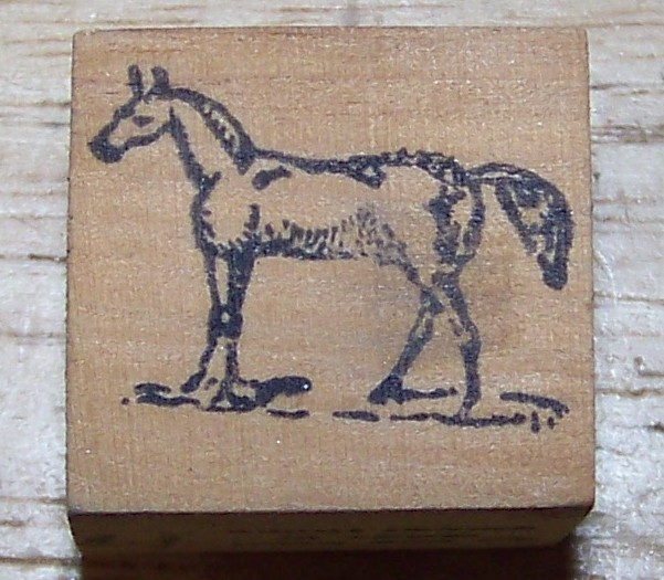 Primary image for Horse small Rubber Stamp