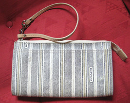AUTH COACH Wallet Legacy Organizer Coated Canvas Zip 49316 CC Pockets MINT - $41.58