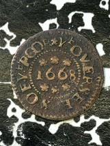 1668 Great Britain Littleport Farthing Token Lot#JM1984 Dickinson-146 - $60.78