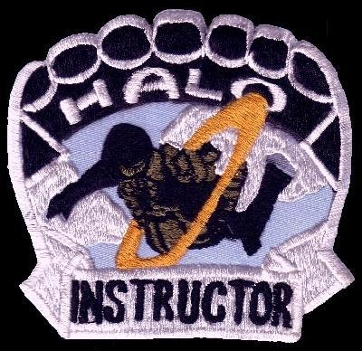 Primary image for US Army Military Freefall School HALO Parachutist Instructor Patch