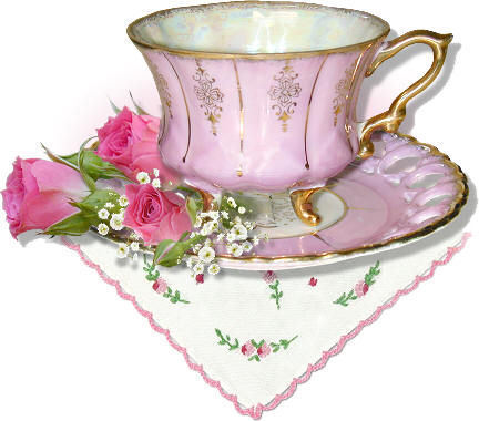 BONANZA TEMPLATE- TEACUPS AND FLOWERS