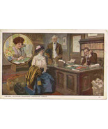 Bell Telephone Unexpected Guests 1913 Vintage  Post Card  - $15.00