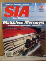Special Interest Autos Magazine SIA #188 April 2002 Matchless Mercurys - $8.99