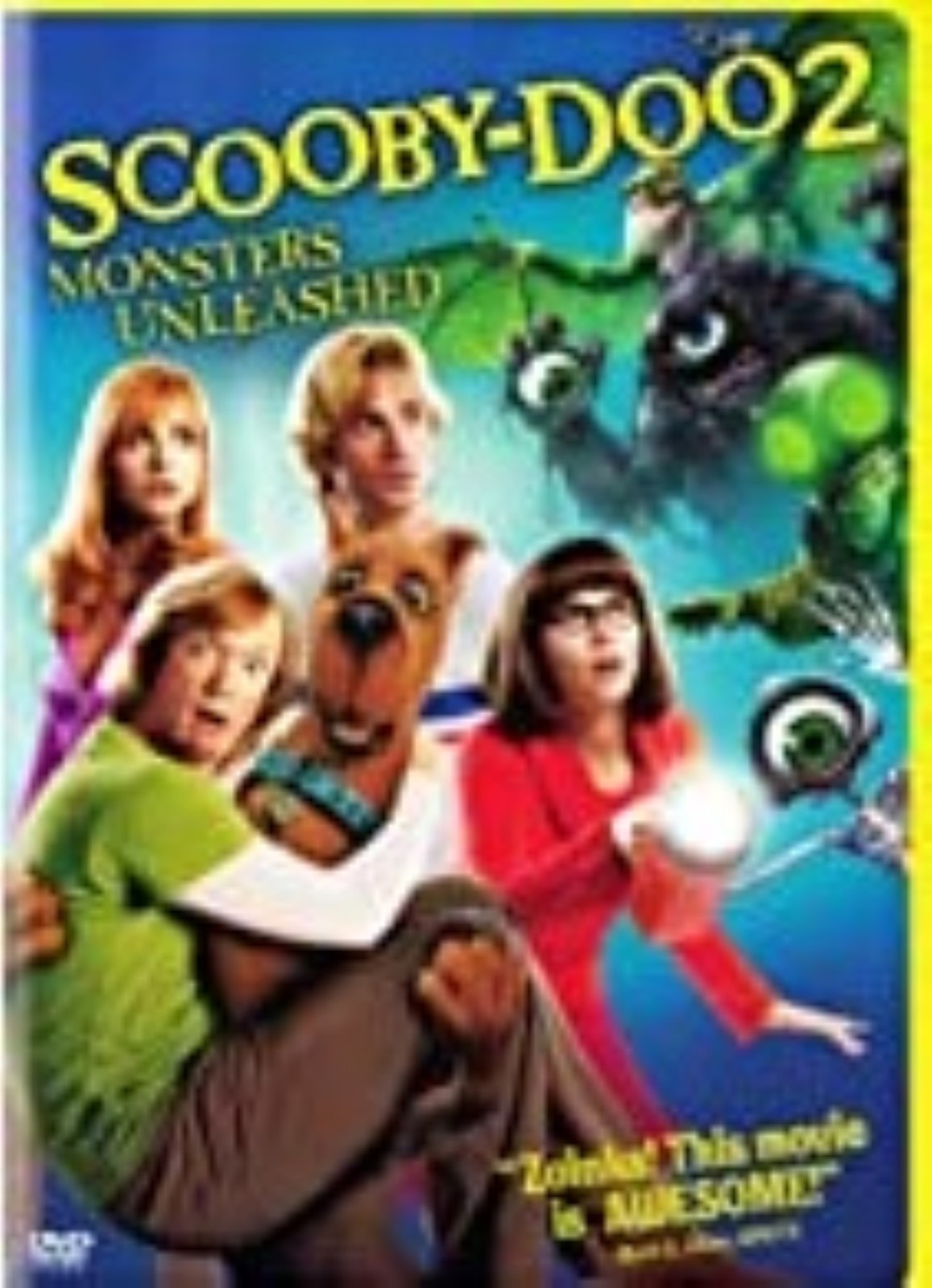Scooby-Doo 2: Monsters Unleashed Dvd
