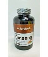 Organic KOREN RED PANAX GINSENG 1500mg 180 CT NatureBell EXP 04/22 - $27.27
