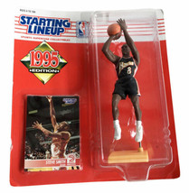 NBA Starting Lineup SLU Steve Smith Action Figure Atlanta Hawks 1995 - $12.19