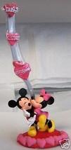 Disney MICKEY MINNIE HUGS KISSES VALENTINE Photo Holder - $29.39