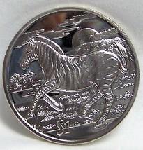 SIERRA LEONE AMAZING AFRICAN ZEBRA CUNI 2007 COIN UNC - $22.24