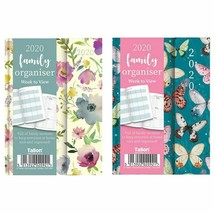 2020 A5 Week to View Family Organiser Planner Design Diary For Office Home - $11.44